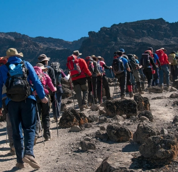 9 Days Hiking Mountain Kilimanjaro -Machame Route